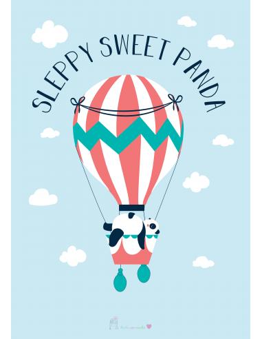 sleepy SWEET PANDA
