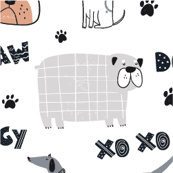 ESTAMPADOS ANIMAL´S WORLD